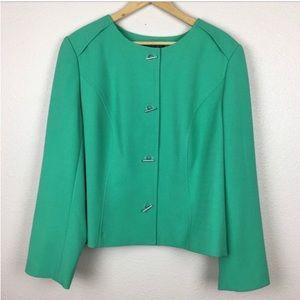 Lane Bryant Mint Green Suit Jacket